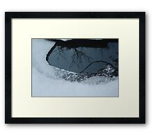 Frost and Reflections Framed Print