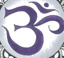 The Crown Chakra Sticker