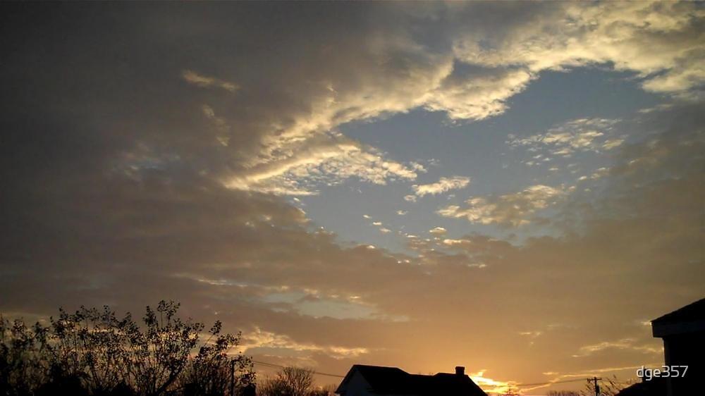 01/28/2013 Fantastic Sunset  by dge357