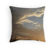 01/28/2013 Fantastic Sunset  Throw Pillow