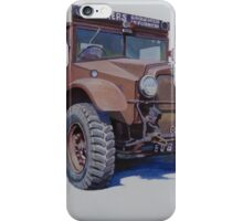 Morris Commercial breakdown. iPhone Case/Skin