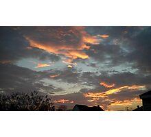 01/28/2013 Fantastic Sunset 7 Photographic Print