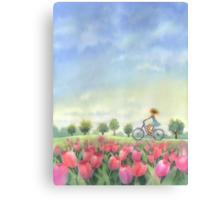 Wind in your hair Canvas Print