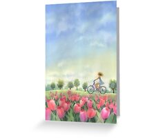 Wind in your hair Greeting Card