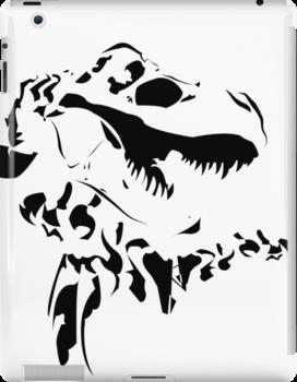 Rex - Black on White by jlechuga