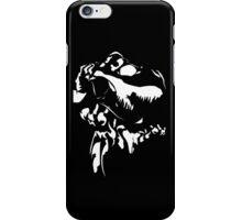 Rex - White on Black iPhone Case/Skin