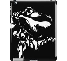 Rex - White on Black iPad Case/Skin