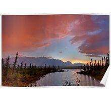 Jasper Lake Glow Poster