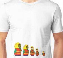Awesome Zombie Rushing Dolls Unisex T-Shirt