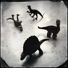 Composition w/ Dinosaurs (2013) by Joshua Steele