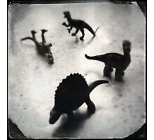 Composition w/ Dinosaurs (2013) Photographic Print