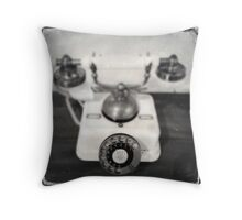 Rotary dial telephone, c.1920s (2013) Throw Pillow