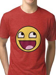 Epic Face Shirt Tri-blend T-Shirt