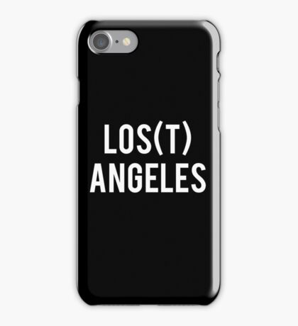 LOS(T) ANGELES iPhone Case/Skin