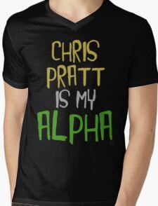 Chris Pratt is My Alpha Mens V-Neck T-Shirt