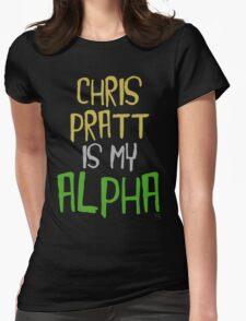 Chris Pratt is My Alpha Womens Fitted T-Shirt