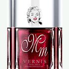Marilyn Monroe Maroon Nail Polish apple iphone 5, iphone 4 4s, iPhone 3Gs, iPod Touch 4g case by pointsalestore Corps