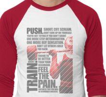 Train and Discipline Men's Baseball ¾ T-Shirt