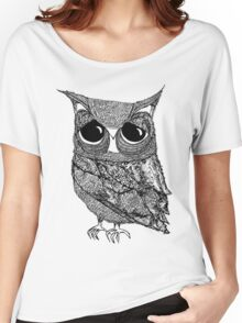 The intricate owl Women's Relaxed Fit T-Shirt