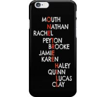 One Tree Hill (Names) - Iphone case  iPhone Case/Skin