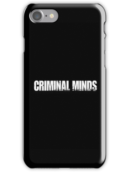 Criminal Minds - Iphone case  by sullat04