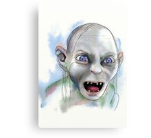 Gollum. Canvas Print