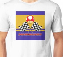 Mario Kart Chequered Flags Unisex T-Shirt