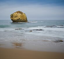 Orphaned rock at Childers Cove, Victoria by Roger Neal