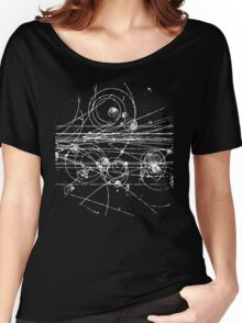 Particle tracks (dark) Women's Relaxed Fit T-Shirt