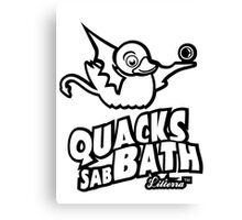 Quacks sabBath by lilterra.com Canvas Print