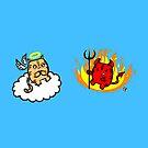 Good vs. Evil by jrock1184