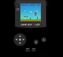 Retro Nintendo Game Boy Super Mario Dark iPad Case / iPhone 5 Case / iPhone 4 Case / T-Shirt / Samsung Galaxy Cases    by CroDesign