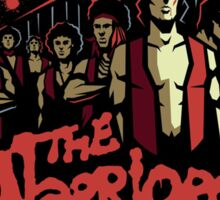 The Warriors Poster Sticker
