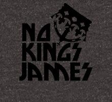 No Kings James Logo Black Hoodie