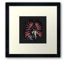 Blackwinged Dragon Icon - Yugioh! Framed Print