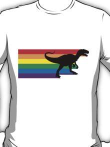 Rainbosaurus rex T-Shirt