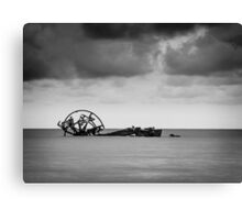 The Paddle Steamer 'Ozone' Canvas Print