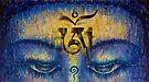 Tibetan Om by Vrindavan Das