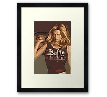 Buffy Season 8 Framed Print