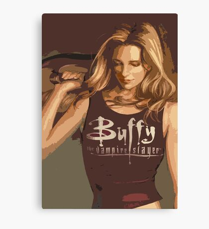 Buffy Season 8 Canvas Print