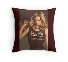 Buffy Season 8 Throw Pillow