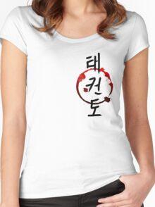 TaeKwonDo Women's Fitted Scoop T-Shirt