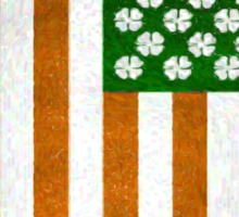 Irish American 015 Sticker