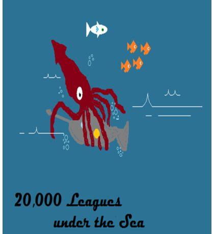 Squid vs Nautilus Sticker
