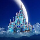 Disney's Castle in the Night Sky by AstroNance