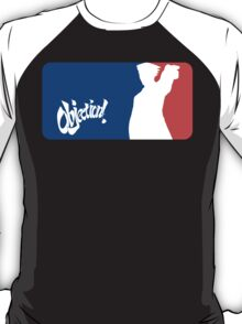 Major League Attorney: Objection T-Shirt