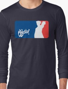 Major League Attorney: Objection Long Sleeve T-Shirt