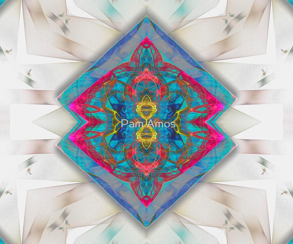 Twin Diamonds by Pam Amos