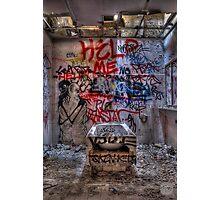 La Rundel Mental Asylum Photographic Print