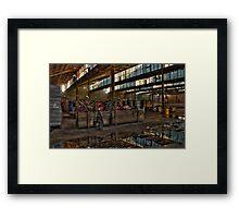 Bradmill Textiles Framed Print